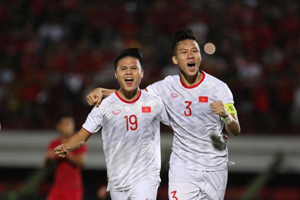 Đội tuyển Việt Nam thắng thuyết phục Indonesia trên sân khách