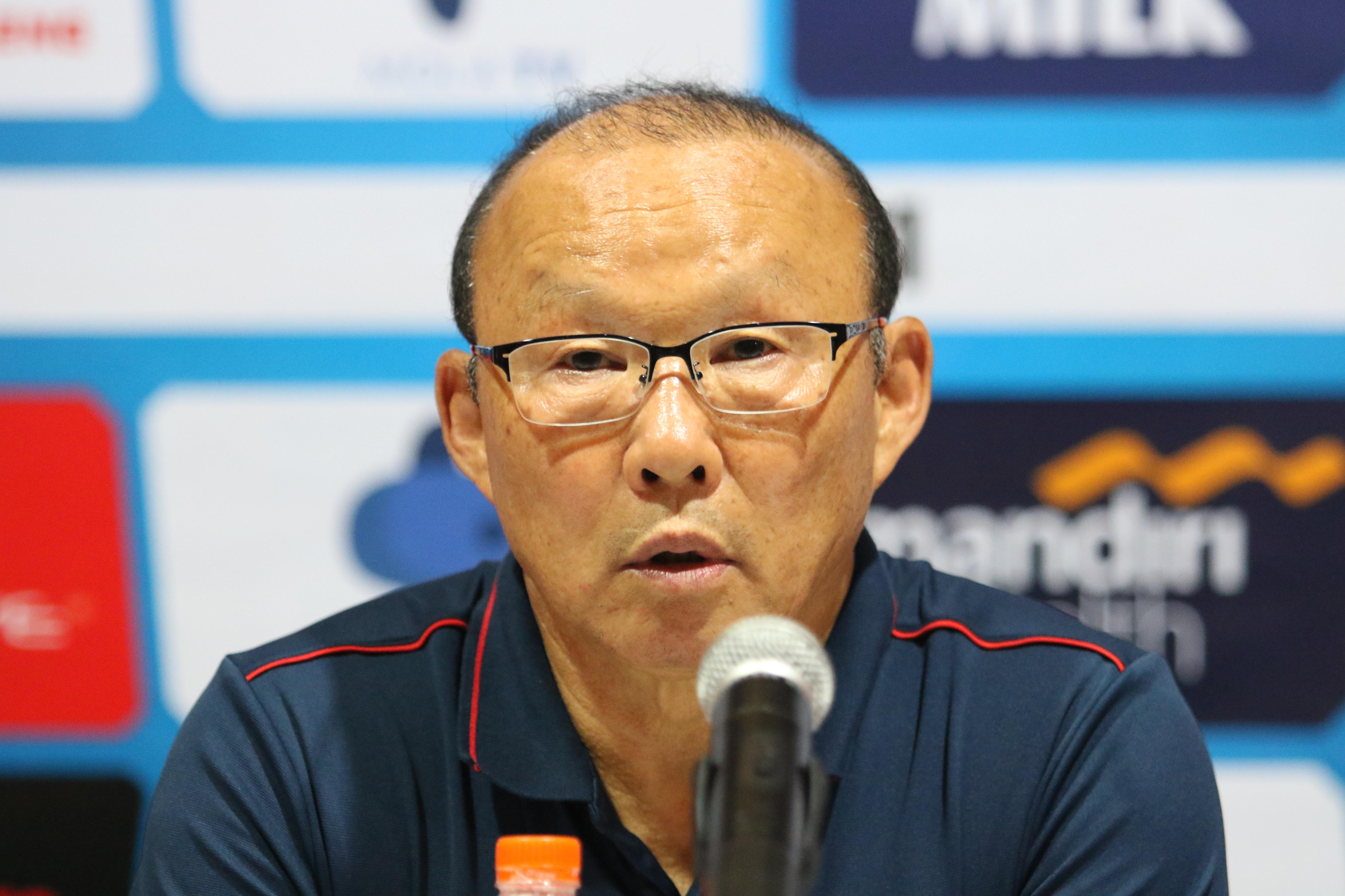 HLV Park Hang-seo hài lòng với chiến thắng 3-1 trên sân Indonesia