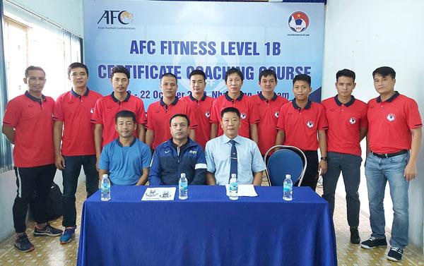 Khai giảng khóa học huấn luyện viên thể lực cấp 1B tại Nha Trang