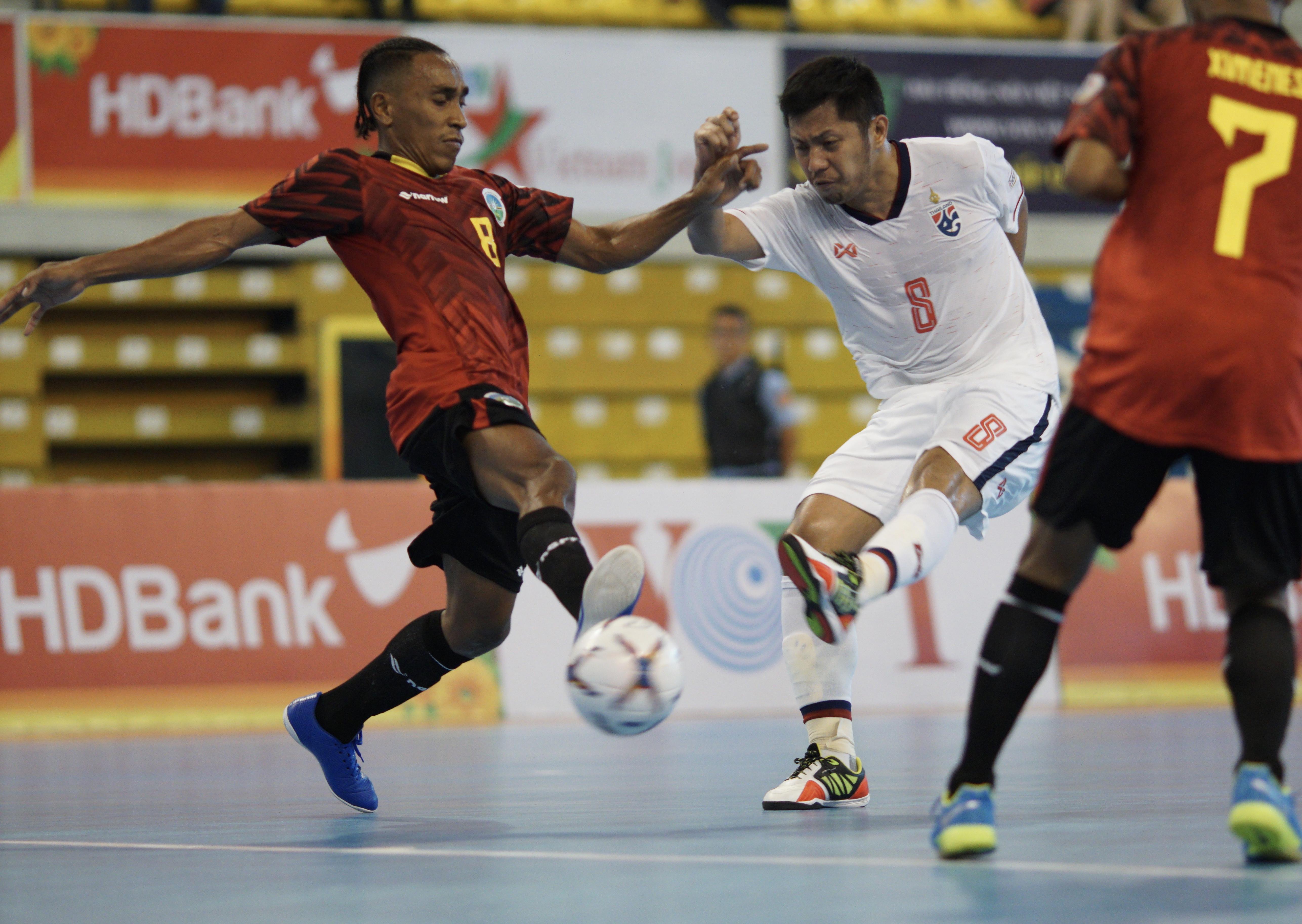 Giải futsal HDBank vô địch Đông Nam Á 2019: Thái Lan và Myanmar sớm vào bán kết