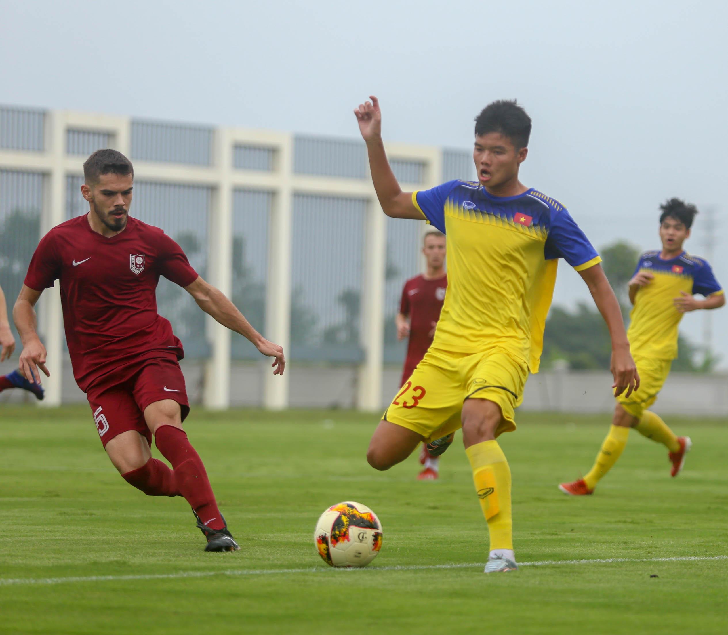 Thi đấu giao hữu, U19 Việt Nam – U19 FK Sarajevo 2-1