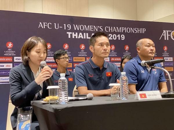 Thông tin đội U19 nữ QG: Tập trung cao cho trận đầu gặp chủ nhà Thái Lan