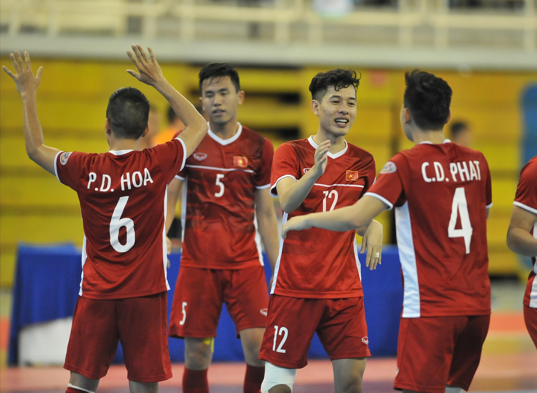 Đánh bại Myanmar trong trận tranh hạng Ba, ĐT Việt Nam giành vé dự VCK futsal châu Á 2020