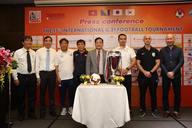 Chiều nay (30/10), khởi tranh giải bóng đá U21 quốc tế báo Thanh Niên 2019