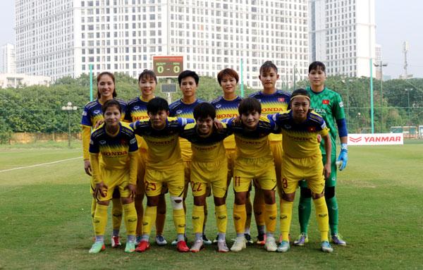 ĐT nữ Việt Nam hòa 1-1 trong trận giao hữu thứ 2 với ĐT nữ Ấn Độ