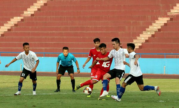 Khai mạc giải bóng đá hạng Ba Quốc gia 2019: Trẻ Viettel thắng đậm trận ra quân