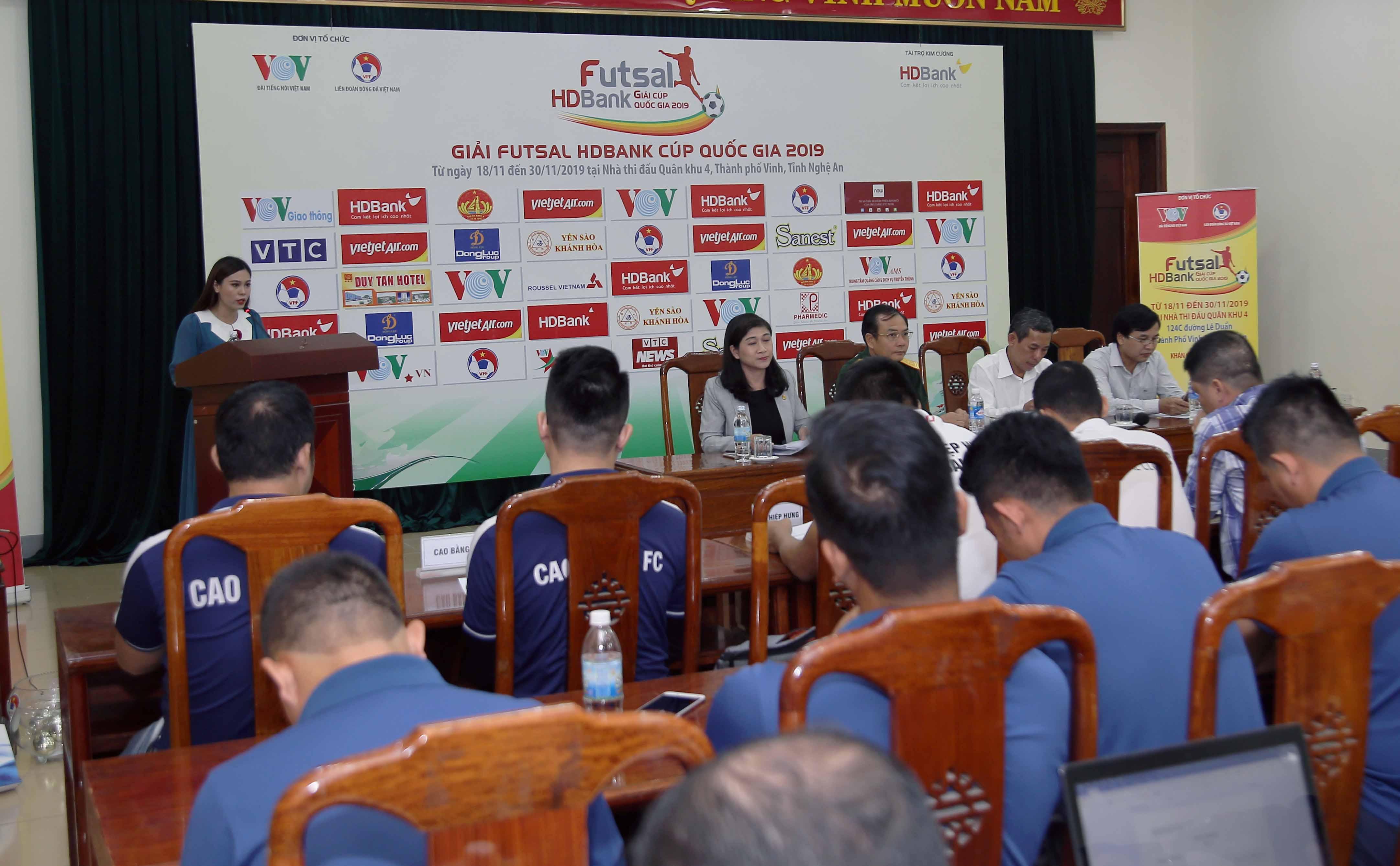 Giải Futsal HDBank Cúp Quốc gia 2019: Vòng quay mới lại bắt đầu