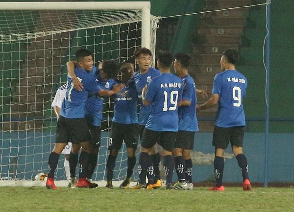 Kết quả lượt trận thứ 4 bảng A giải bóng đá hạng Ba Quốc gia 2019: Luxury Hạ Long giành chiến thắng áp đảo