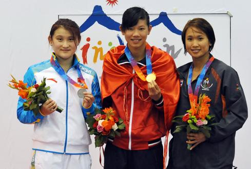 Ánh Viên đoạt huy chương vàng ở AIMAG