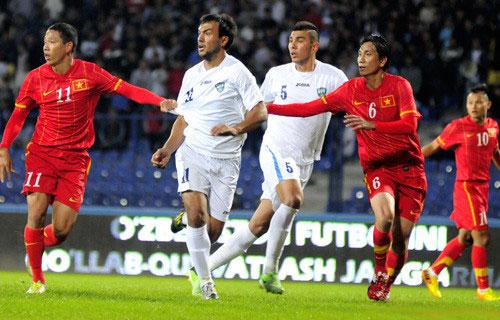 VTV truyền hình trực tiếp trận đấu giữa ĐT Việt Nam và ĐT Uzbekistan