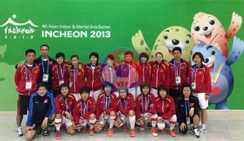 Đội tuyển Futsal nữ Việt Nam kết thúc chuyến thi đấu tại AIMAG Incheon 2013