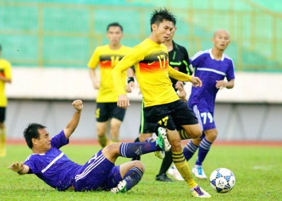 Kết quả vòng 7 giải bóng đá hạng Nhì QG 2013- Ngày 2/7