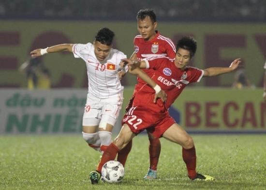 Thua B.Bình Dương 0-1, ĐT U23 Việt Nam xếp thứ  nhì tại BTV Cup 2013