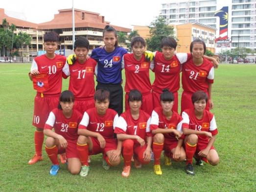 VL giải BĐ U16 nữ Châu Á 2014 (Bảng C, ngày 4/10), Australia - Việt Nam: 6-0