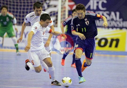 VCK Futsal châu Á 2014 (ngày 5/5): Nhật Bản đụng Thái Lan tại Tứ kết