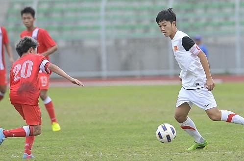 Vòng loại U19 AFC 2014: ĐT U19 Việt Nam thắng ĐT U19 Hong Kong 5-1