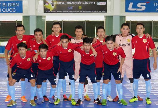 Giải Futsal toàn quốc năm 2014 (ngày 6/3): Sanatech Khánh Hoà và Hoàng Thư Đà Nẵng vững vàng nhóm đầu bảng A