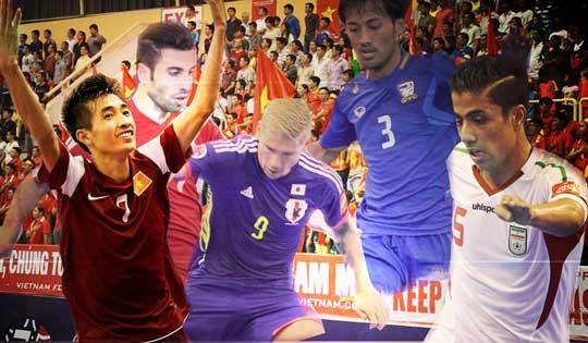 VCK Futsal châu Á 2014: Tiếp tục bán vé các trận tứ kết, bán kết và chung kết
