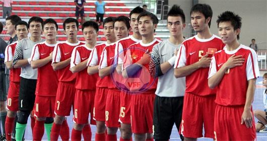 Danh sách tập trung đội tuyển nam Futsal QG đợt 1 năm 2013