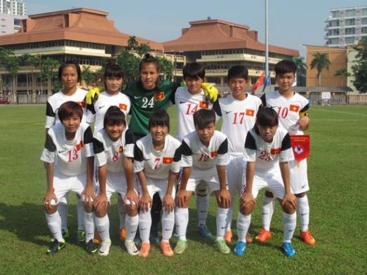 VL giải BĐ U16 nữ Châu Á 2015 (6/10), Việt Nam – Hàn Quốc: 0-3