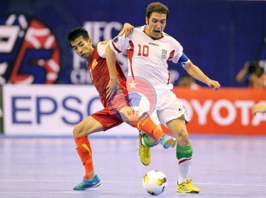 VCK Futsal châu Á 2014 (ngày 7/5): Iran quá mạnh, Việt Nam dừng chân tại Tứ kết