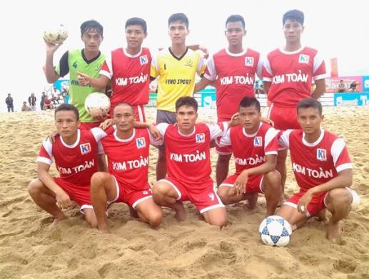 Giải bóng đá bãi biển - Đại hội TDTT toàn quốc lần thứ VII-2014: Đà Nẵng soán ngôi của Khánh Hòa