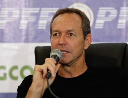 """Đội tuyển Philippines tìm được """"thuyền trưởng"""" mới"""