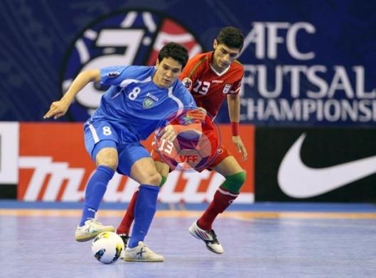 VCK Futsal châu Á 2014 (ngày 8/5): Nhật Bản và Iran giành vé vào chung kết
