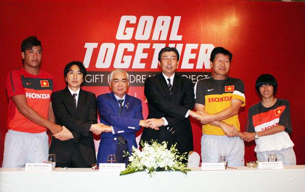 Honda Việt Nam tiếp tục là Nhà tài trợ chính cho ĐT nam, nữ Quốc gia và U23 QG