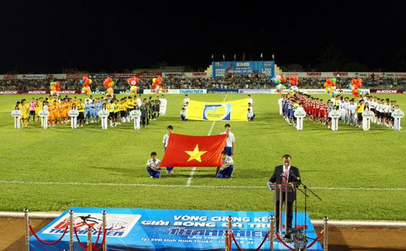 Ninh Thuận sẵn sàng cho ngày khai mạc giải U21 Quốc tế- Cúp Báo Thanh Niên 2013