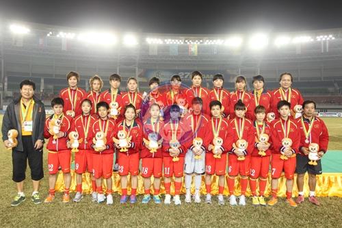 Danh sách tập trung đội tuyển nữ Quốc gia chuẩn bị tham dự VCK Asian Cup 2014