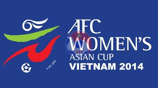 Ngày mai (13/5), họp kỹ thuật 2 bảng A & B VCK Asian Cup nữ 2014