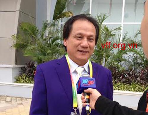 Ông Phan Anh Tú - Lãnh đội đội tuyển nữ Việt Nam: Sẽ thi đấu đúng phong độ
