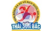 Thông báo số 1 giải bóng đá nữ VĐQG - Thái Sơn Bắc 2014