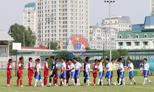 Đội tuyển U16 Việt Nam gút danh sách tham dự giải vô địch U16 Đông Nam Á 2013