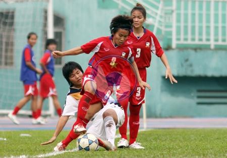 Bóng đá nữ SEA Games 27: Thái Lan - Malaysia: 6-1