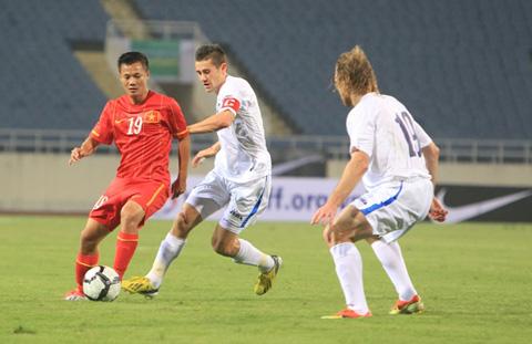 Vòng loại Asian Cup 2015- Bảng E, ĐT Việt Nam- ĐT Uzbekistan: 0-3