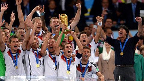 Bóng đá Đức với chức vô địch World Cup 2014: Thành công mới chỉ bắt đầu