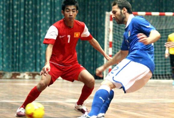 Giải Futsal quốc tế 2013: ĐT Việt Nam được thử sức với các cường quốc Futsal thế giới