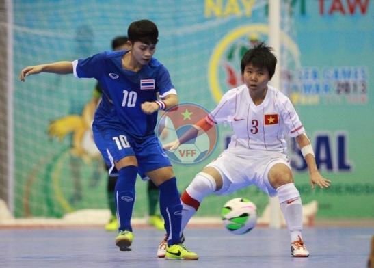 Môn Futsal nữ SEA Games 27 (16/12): Thái Lan củng cố vị trí số 1 trên bảng xếp hạng