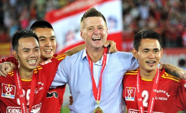 Thắng B.Bình Dương 2-0, Hải Phòng vô địch Cúp QG- Kienlongbank 2014