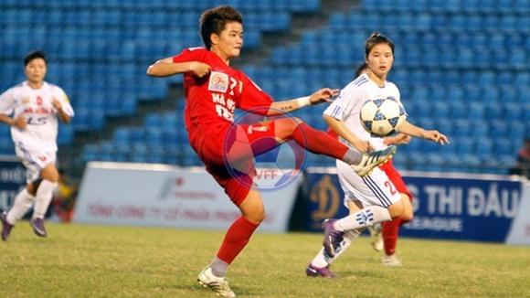 Lượt về giải BĐ nữ VĐQG - Thái Sơn Bắc 2013 (19/6): Hà Nội I vô địch sớm