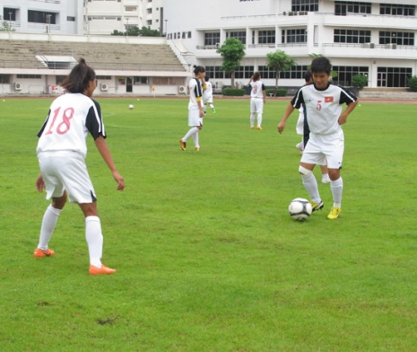 Giải BĐ U19 nữ Đông Nam Á 2014 (19/8): Việt Nam tự tin trước trận gặp Timor Leste