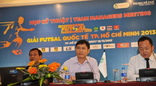 Giải Futsal quốc tế 2013: Việt Nam đặt mục tiêu học hỏi các đội tuyển hàng đầu thế giới