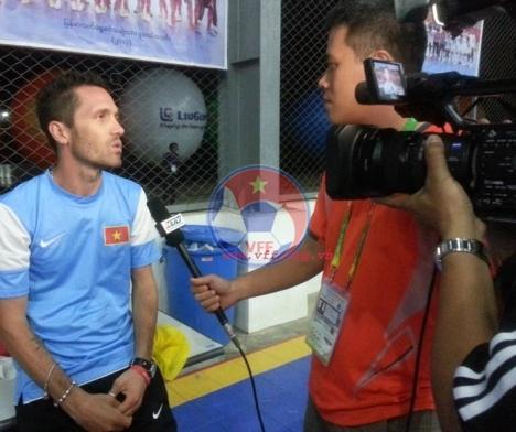 HLV trưởng Futsal Việt Nam Sergio: Các cầu thủ sẽ thể hiện khác ở trận tái đấu với Thái Lan
