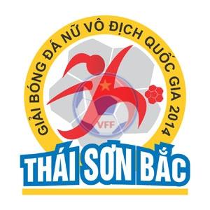 Lịch thi đấu giải bóng đá nữ Vô địch Quốc gia - Thái Sơn Bắc 2014