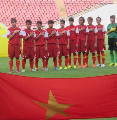 Giải BĐ U19 nữ Đông Nam Á 2014 (20/8): Việt Nam tiếp tục có chiến thắng đậm