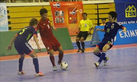 Giải futsal quốc tế TP.HCM 2013: Nhật Bản thắng Thái Lan 3-0