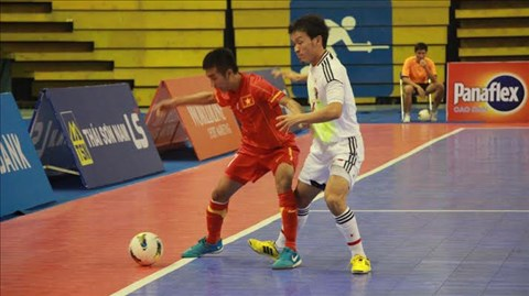 Giải Futsal quốc tế 2013: ĐT Futsal Việt Nam thua sát nút ĐKVĐ châu Á Nhật Bản