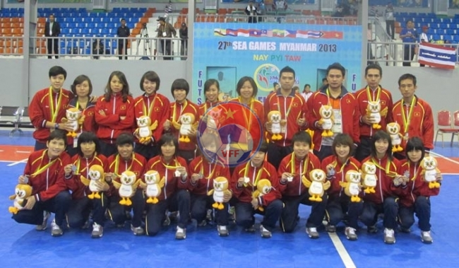 SEA Games 27: Đội tuyển Futsal nữ Việt Nam giành huy chương Bạc